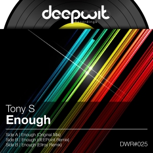 Original from Tony S with remixes from dEEPoint and Ellroy. Released September 30th, 2013.
